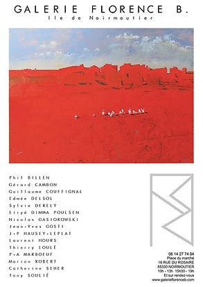 Laurent Hours Exposition Peinture à Noirmoutier Galerie Florence B.