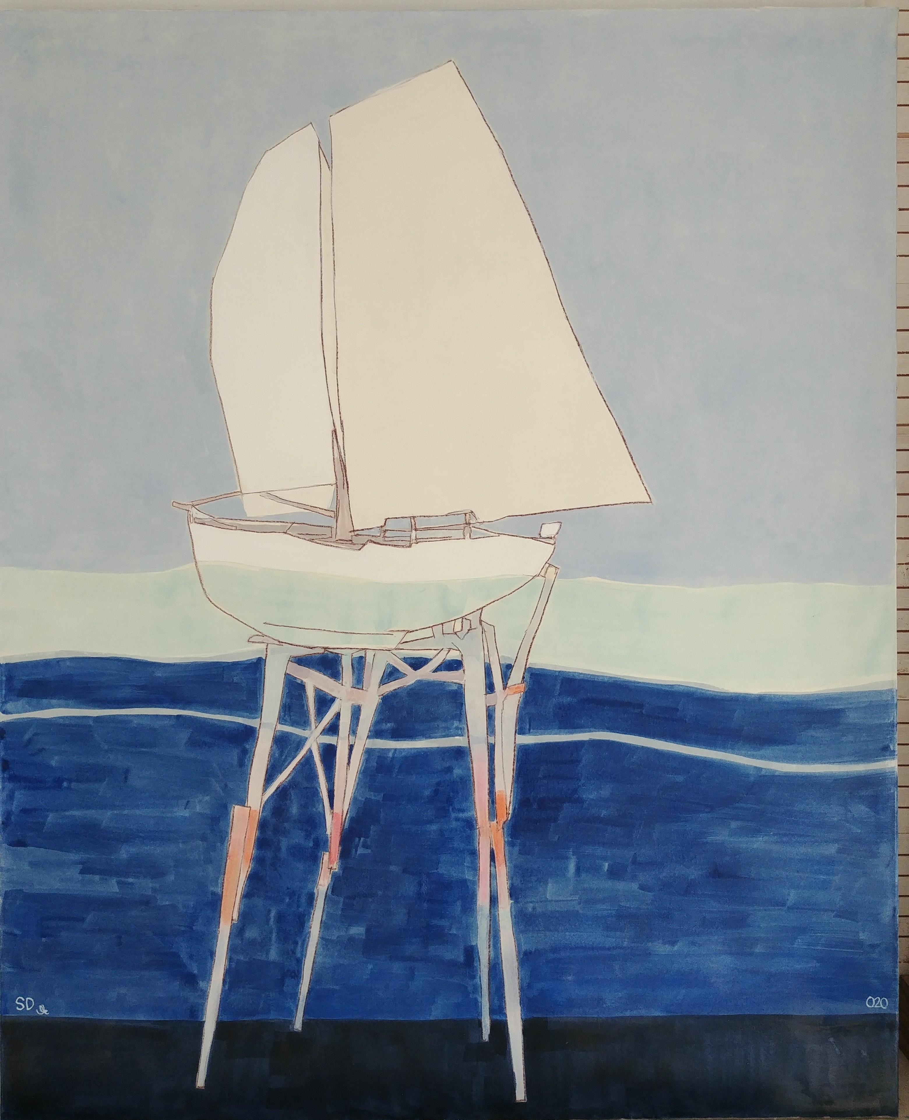 Stephane Dauthuile Peinture Galerie Florence B.