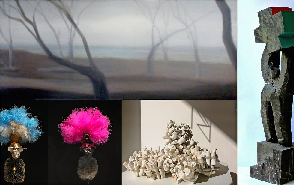 Exposition Peinture Scuplture 2021 Galerie Florence B. Noirmoutier en'l'Ile 85330 Vendée France