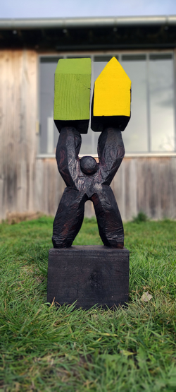 Pierre Marchand Exposition Sculptures Galerie Florence B. 2021