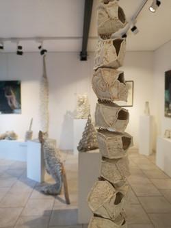 Bénédicte Vallet Sculpture Porcelaine Exposition Noirmoutier