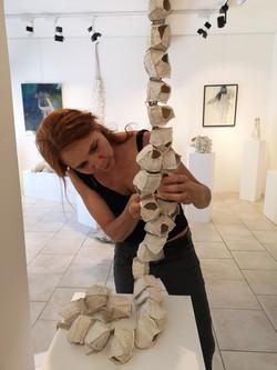 Bénédicte Valllet Exposition Sculpture Galerie Florence B.