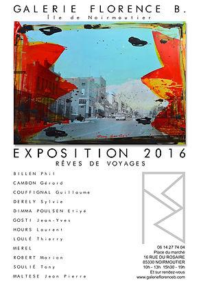 Exposition Noirmoutier Tony Soulié Photo-Peinture Lithographie