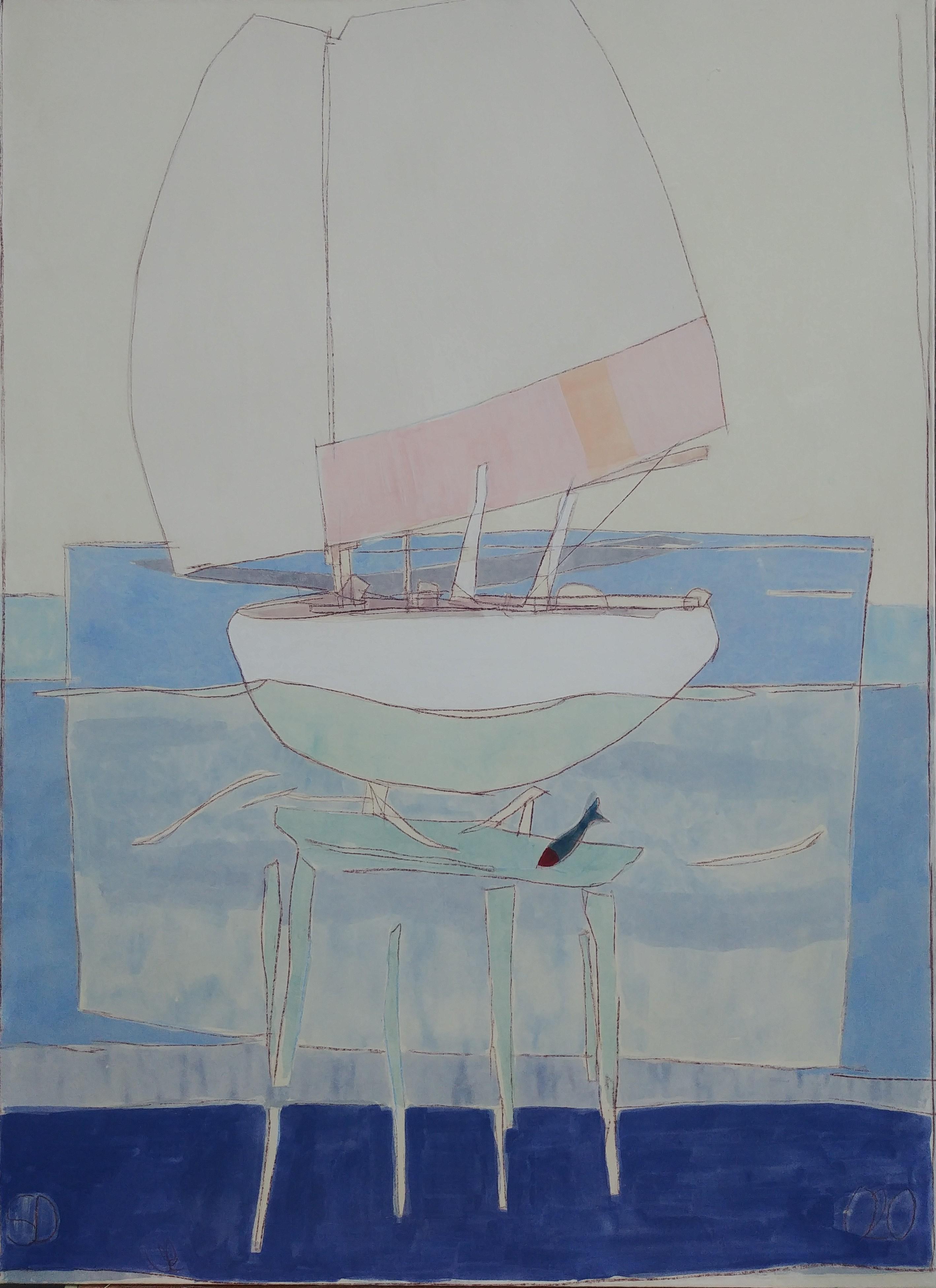 Stephane Dauthuille Exposition Noirmoutier Peinture