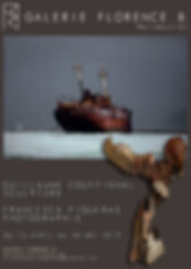 Expo Couffignal Piqueras Bronze Photographie Galerie Noirmoutier