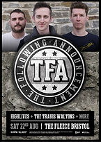The Following Announcement TFA Fleece Bristol Gig Tour Show