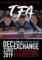 The Following Announcement TFA Exchange Bristol Gig Tour Show