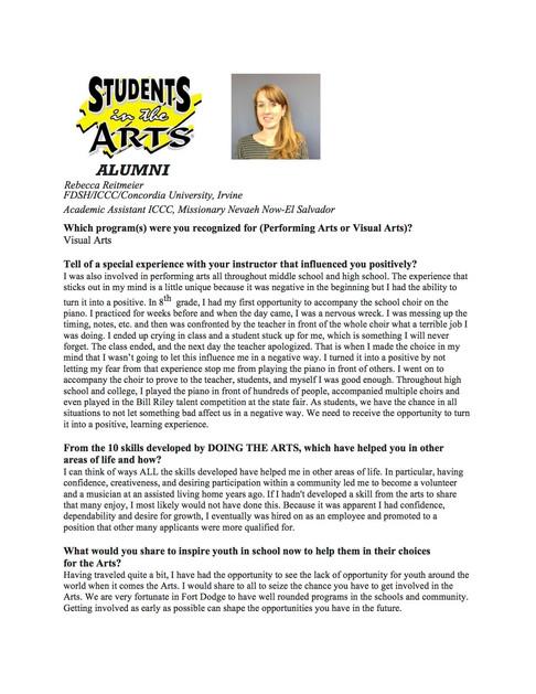 Rebecca Reitmeier SITA Alumni 1.31.18.j