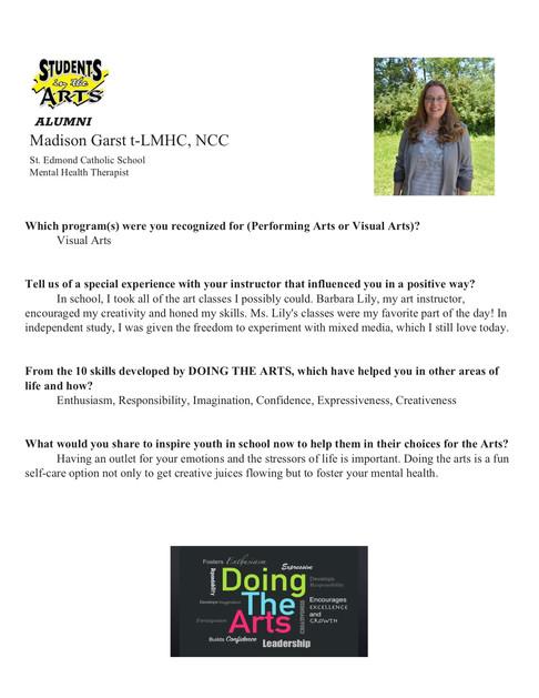 SITA Survey - Madison Garst t-LMHC, NCC