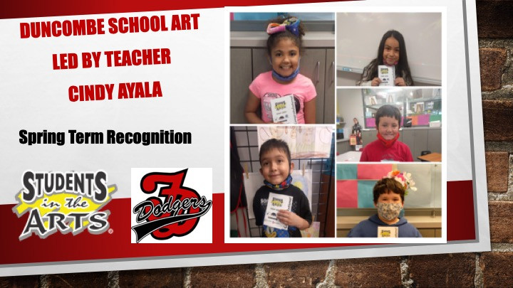 Duncombe School Art Spring Term 20 -21