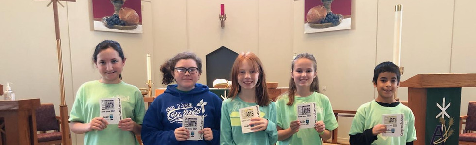 Saint Paul Lutheran Fall Term Recognition