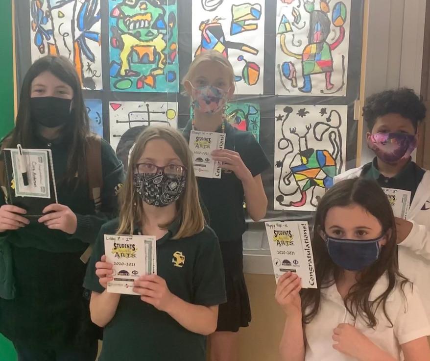 St Ed's ART Missing 1st grade Spring Ter