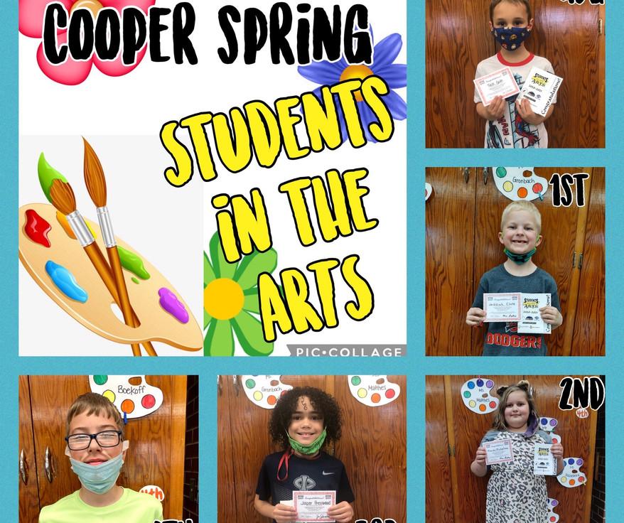 Cooper Art Spring Term 20-21