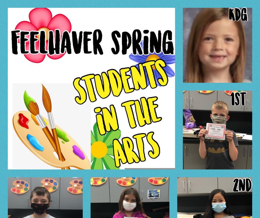 Feelhaver Art Spring Term 20-21
