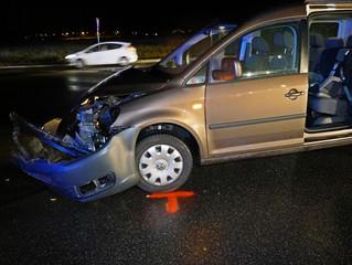 Rotlicht missachtet - eine Verletzte