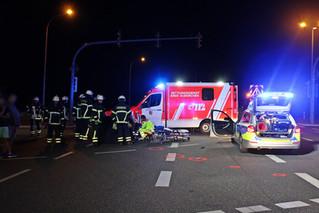 Verkehrsunfall mit Fußgänger