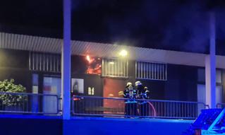 Feuer am Ring-Center in Euskirchen