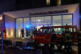 Brand im Kreiskrankenhaus
