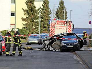 """Orkan """"Friederike"""": Dach landete auf PKW"""