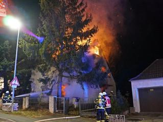 Vorsätzliche Brandstiftung nicht ausgeschlossen