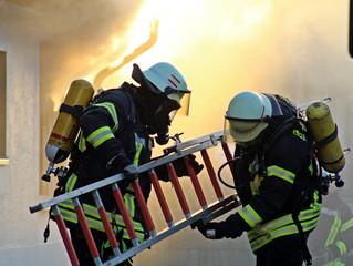 Brand in Einfamilienhaus
