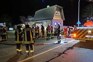 Brand im Keller eines Wohnhauses