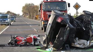 Motorradfahrer bei Verkehrsunfall tödlich verletzt