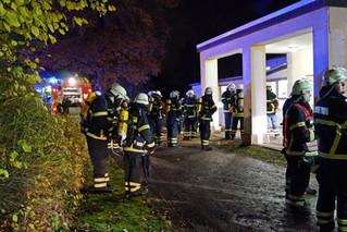 Erneutes Brandgeschehen in Altenheim