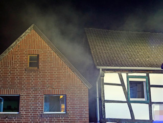 Kaminbrand in Stazvey