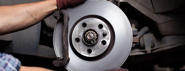 brakes on a car