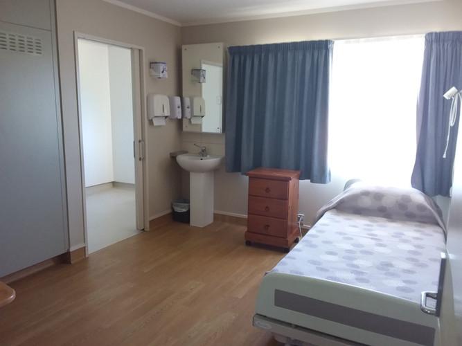 Stewart Wing Hospital Room