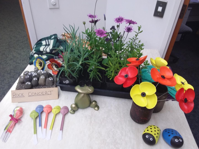 Garden Club creations