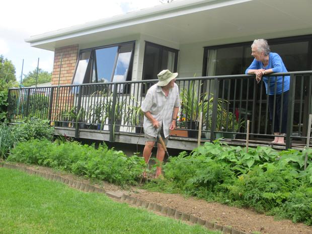 Willson Gardens, Erk enjoying his Garden