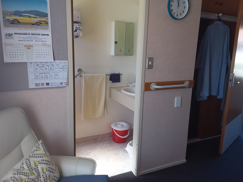 Rest home room ensuite