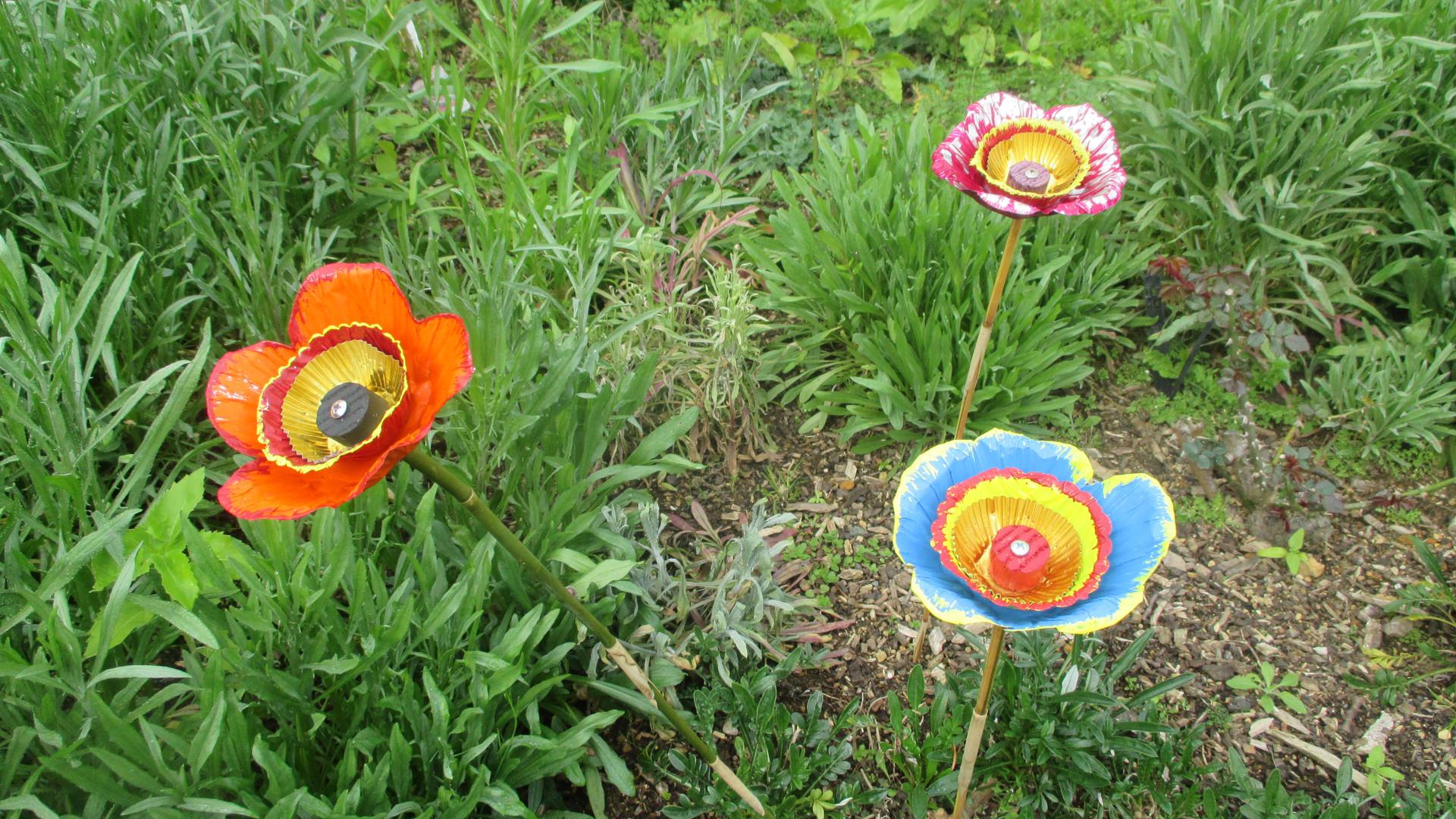 Garden Club flower creations