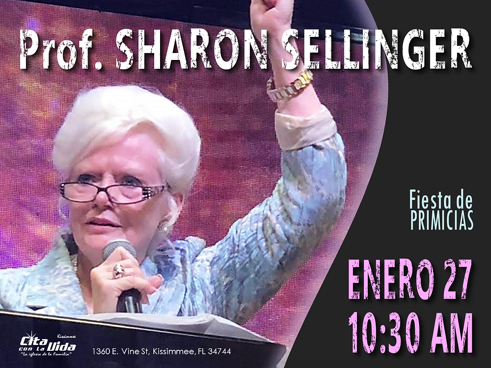 Profeta Sharon Sellinger
