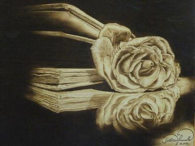 Una rosa nel libro