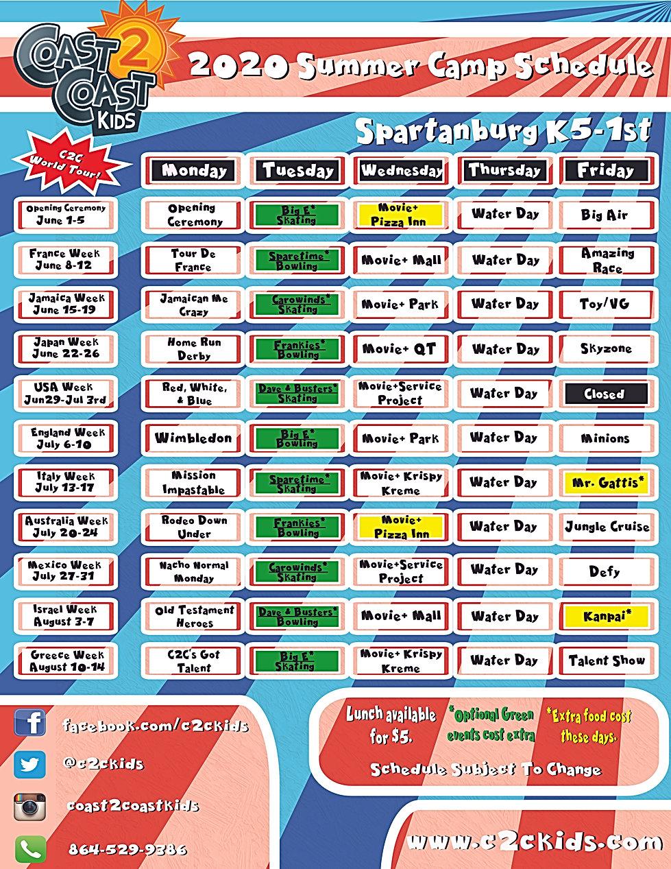 K-1st Spartanburg Schedule.jpg