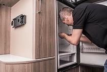 Camper Refrigerator Issue. Caucasian Tec