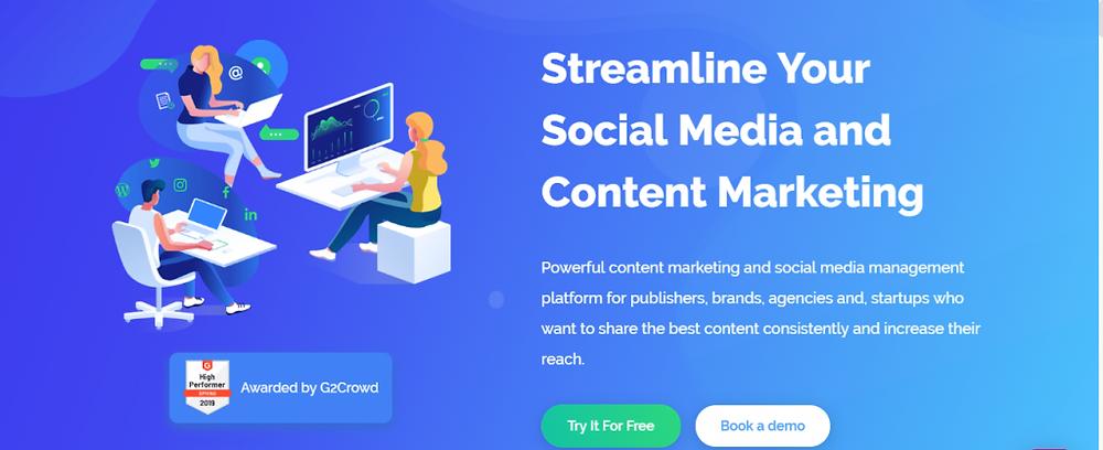 content studio free social media tool
