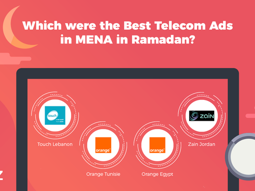 Insights on the most Popular Telecom Ads in the MENA Region this month!
