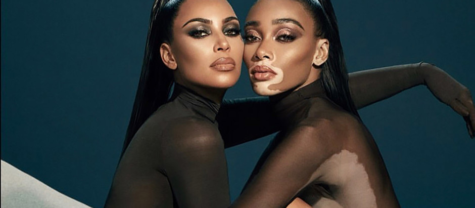 Your Guide To The KKW Beauty X Winnie Harlow Collection