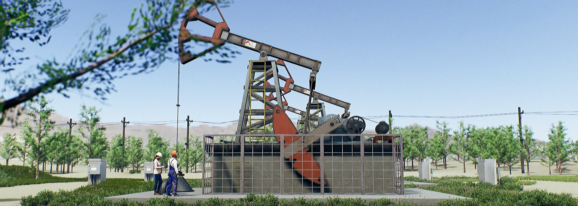 Oilfield Visualization