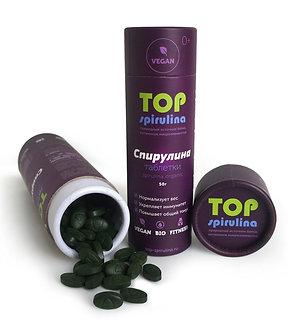 Спирулина - водоросль, ТАБЛЕТКИ 100г. (фольгированный Zip-lock пакет) (200шт*0,5