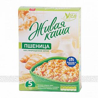 """Живая каша """"Vita"""" пророщенное зерно ПШЕНИЦА 300гр кор"""