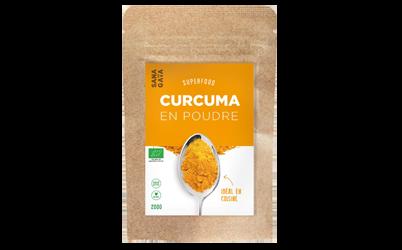 Curcuma en poudre Bio - 200 g