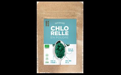 Chlorelle en poudre 100% pure Bio -
