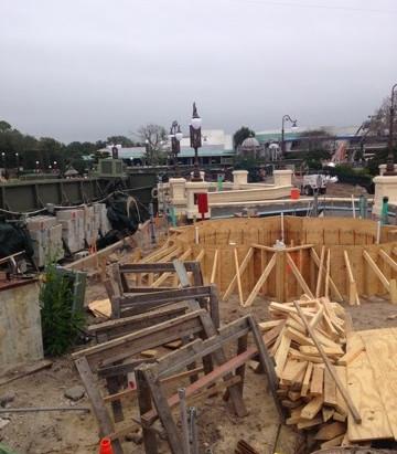 New Pics of Hub Enlargement Progress