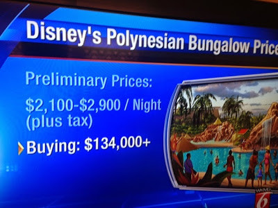 Disneys Polynesian Bungalow Pricing Released