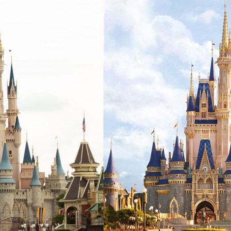 Cinderella Castle to Receive Update